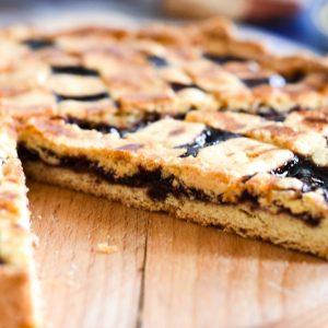 Cherry Jam Tart (Pasta Frolla) - wandering and tasting