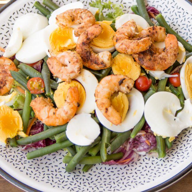 salad recipe - wandering and tasting